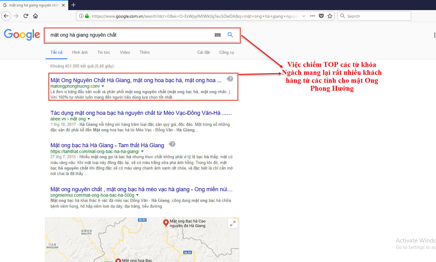 Tu SEO website mang lai don hang mien phi